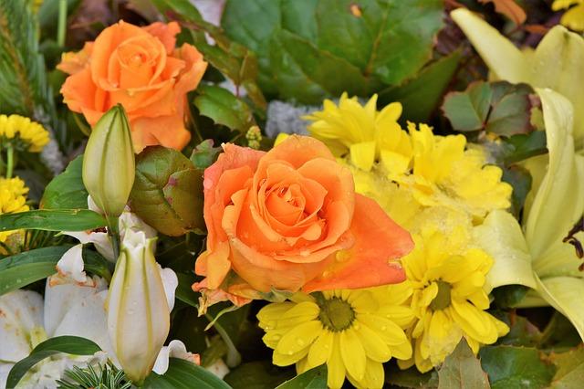 התאמת זר הפרחים לסוג האירוע
