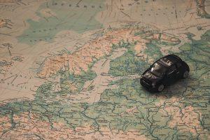 אירופה ברכב