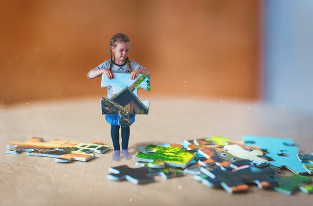 יתרונות המשחק פאזל אצל ילדים