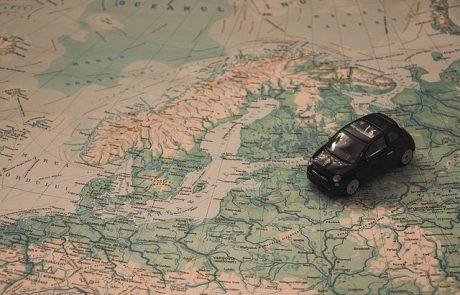 אירופה ברכב – מסלול חוצה מדינות